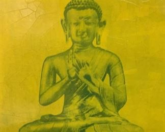 Offset Lithograph Buddha Statues, Artwork