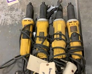 """Located in: Carson City, NV MFG DeWalt Model DWE4887N Power (V-A-W-P) 120 Volts 1-1/2"""" Die Grinders **Sold as is Where is** Tested Works"""