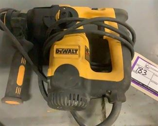 Located in: Carson City, NV MFG DeWalt Model D25313 Power (V-A-W-P) 120 Volts L-Shaped 3 Mode SDS **Sold as is Where is** Tested Works
