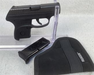 "Serial - 371755299 Mfg - Ruger LCP 380 Auto Barrel - 2.5"" Magazines - 1 Type - Pistol Located in Chattanooga, TN Condition - 3 - Light Wear This lot contains a Ruger LCP semi-automatic pistol chambered in 380 Auto. Comes with a Ruger pocket holster."