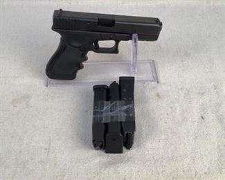"Serial - GAE250 Mfg - Glock Model 37 Model - Gen 3 Pistol Caliber - 45 GAP Barrel - 4.49"" Capacity - 10+1 Magazines - 3 Type - Pistol Located in Chattanooga, TN Condition - 3 - Light Wear This is a Glock Model 37 Gen 3 pistol chambered in 45 GAP (not 45 ACP). This pistol is perfect for those of you out there who want a quality pistol for duty or carry use. This pistol features a rubber molded grip added on for increased grip and an accessory rail for lights/lasers.  **Dayton PD search and seizure firearm**"