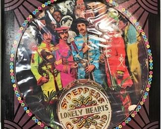 """https://www.ebay.com/itm/124658530856BM0104B THE BEATLES """"SGT PEPPERS LONELY HEARTS CLUB BAND """" DISC SEAX11840 LIM ED"""