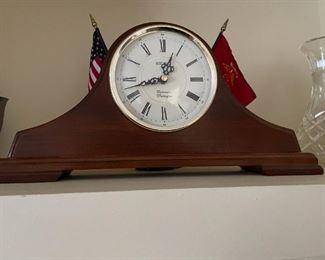 . . . a nice mantle clock