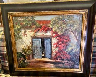 Sidney Sinclair/ Boerne Artist  original $600.00