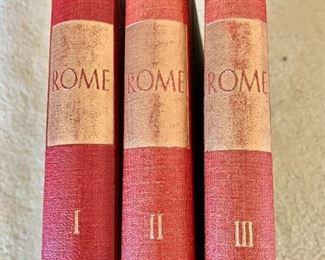 "$60 - ""Rome"" volumes I, II and III"