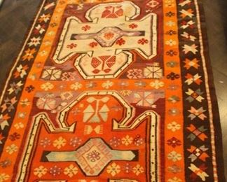 Flat weave rug.  1964  Kilim.  $550.00.  5ft x 11ft           This item is at the West location.