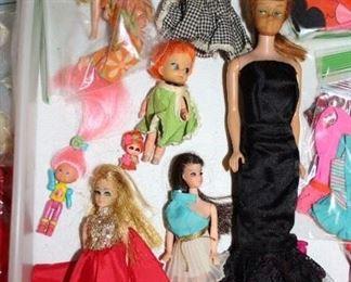 Vintage Barbie and Dawn Dolls, Etc.