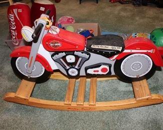"""Harley Davidson """"rocking motorcycle"""""""