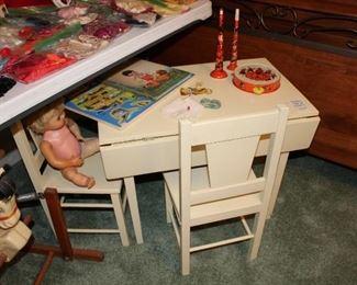 Cute Children's Table for Tea Parties