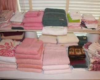 Pink Towels Galore