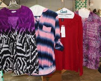 Variety of Ladies' Clothing