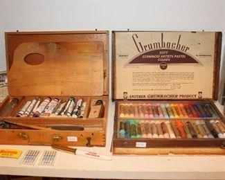 Grumbacher Pastel Set