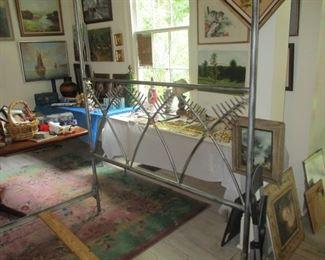 HEADBOARD from the Mario Villa canopy bed