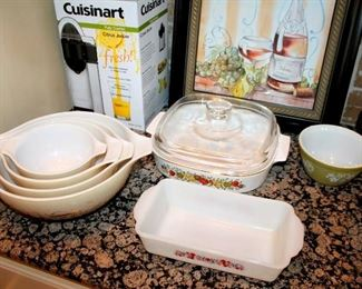 Vintage Pyrex and Corningware