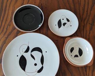 Stangl Pottery - Lyric  - dinner plate - lug bowl -bread plate -saucer