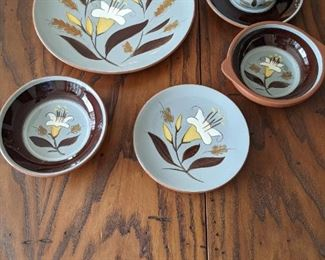 Stangl Pottery - Golden Harvest  - dinner plate - lug bowl -bread plate -cup and saucer - bowl
