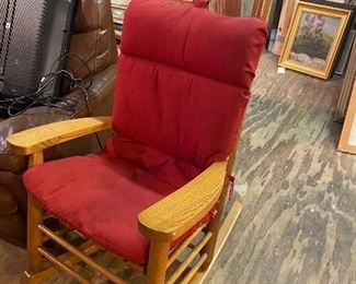 Nice Solid Rocking Chair