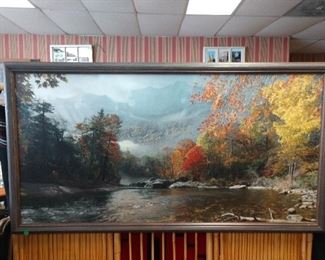 """""""Fall in The Appalachians"""" - Mount Mitchell by Phillip Philbeck- 15/250, Signed, and has a Certification of Authenticity"""