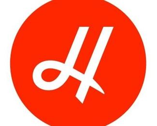 HES Monogram Auction Orange