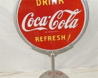 55X30 COKE REFRESH LOLLY POP SIGN