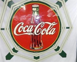 VIEW 2 45IN COKE SIGN W/ BOTTLE