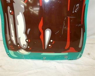 VIEW 5 20X73 1949 EMB. DIE CUT COKE