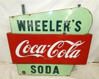 VIEW 6 OTHERSIDE COKE PULL NOSE SIGN