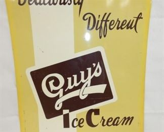 20X28 GUYS ICE CREAM SIGN