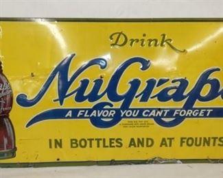 24X12 EMB. NUGRAPE DRINK SIGN