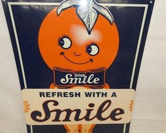 VIEW 2 CLOSEUP NICE GRAPHICS SMILE SIGN