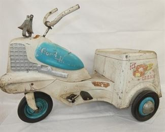 EARLY MURRAY ICE CREAM PEDAL CART
