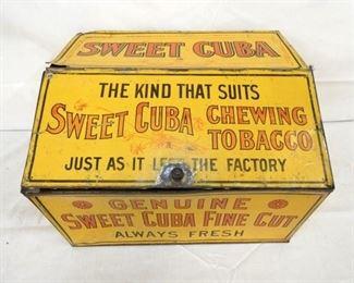 18X12 SWEET CUBA CHEWING TOBACCO