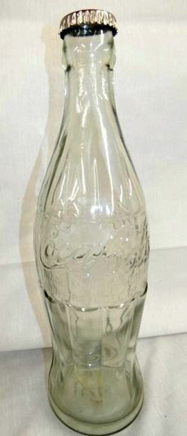 20IN 1923 GLASS COKE BOTTLE DISPLAY
