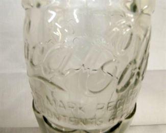 VIEW 2 CLOSEUP EMB. COKE GLASS BOTTLE