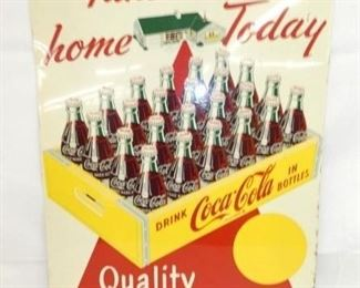 20X28 1947 TAKE A CASE COKE HOME SIGN