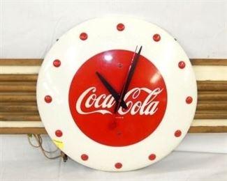 36X16 DECO KAY COCA COLA CLOCK