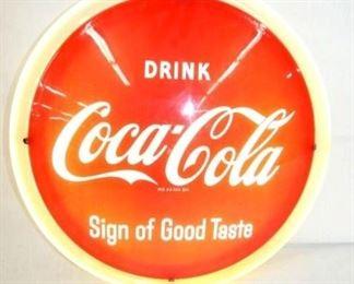16IN DRINK COKE NEON BUTTON