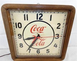 16X16 COCA COLA CLOCK