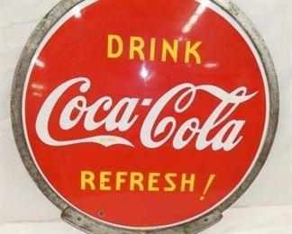 30IN PORC. DRINK COKE LOLLY POP SIGN