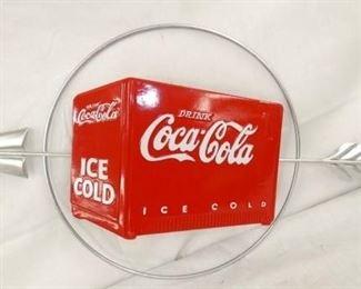 16X31 COKE ICE CHEST ARROW SIGN