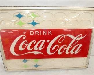 VIEW 4 23X33 PLASTIC DRINK COKE INCERT