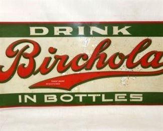 28X10 BIRCHOLA DRINK SIGN