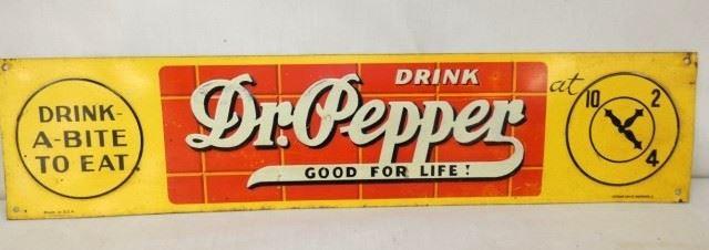 18X4 DR. PEPPER TACKER SIGN