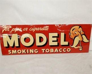 34X11 MODEL SMOKING TOBACCO SIGN