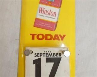 4X9 WINSTON CALENDAR DOOR SIGN