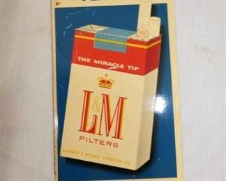 4X9 L&M FLAVOR DOOR SIGN
