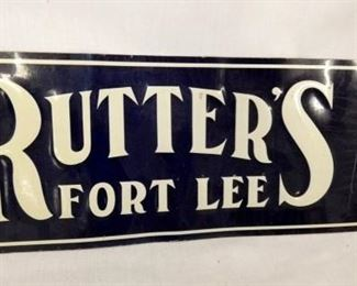 VIEW 2 LEFTSIDE RUTTERS FORT LEE SIGN
