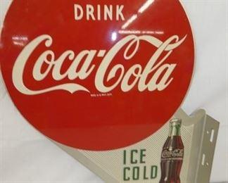 17X22 1954 OLD STOCK COKE FLANGE