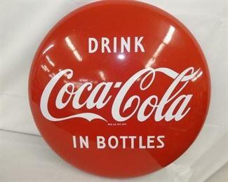 24IN PORC. DRINK COKE IN BOTTLES BUTTON