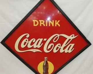 65X65 1941 COKE DIAMOND SIGN